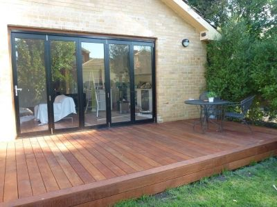2 Front of house new Bi-fold doors